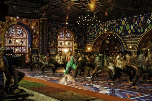 "Film indien ""Doddmane Huduga"". Tournage à Bangalore. 2016"