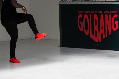 "Présentation du jeu ""Golbang"". 2017."