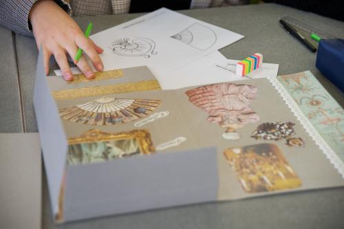 """Projet interdisciplinaire """"A Table au musée des Arts Décoratifs"""". 2019."""