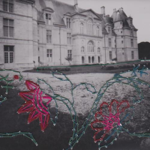 Photographies brodées - Embroidered photographs