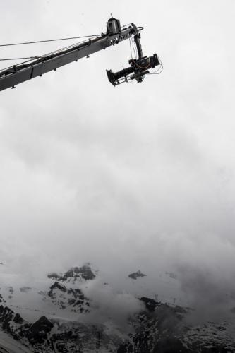 "Film indien ""Jaguar"". Tournage en Suisse. 2017."
