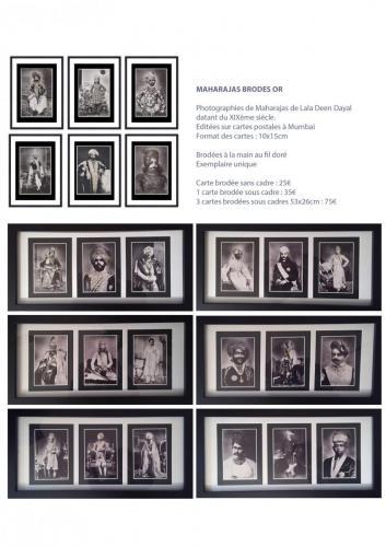 Maharajas brodés Or