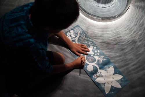Activités pour jeune public dans l'exposition VC&A à Beijing, Chine. 2018.